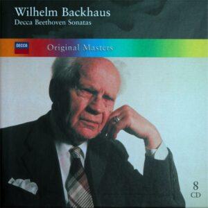 Beethoven: The Piano sonatas, Backhaus, CD cover