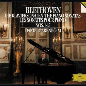 Beethoven: Piano sonatas 1 - 15, Barenboim, CD cover
