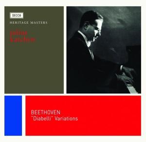 Beethoven: Diabelli Variations, Piano Sonata op.111 — Julius Katchen; CD cover
