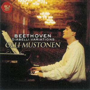 Beethoven: Diabelli-Variations, Mustonen, CD cover
