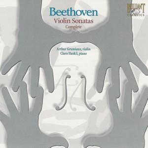 Beethoven: Violin sonatas, Grumiaux, Haskil, CD cover