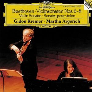 Beethoven: Violin sonatas vol.3, Kremer, Argerich, CD cover