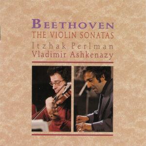 Beethoven: Violin sonatas, Perlman, Ashkenazy, CD cover