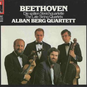 Beethoven, string quartets op.127 - 135, Alban Berg Quartett, CD cover