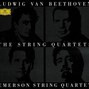 Beethoven, string quartets, Emerson String Quartet, CD cover
