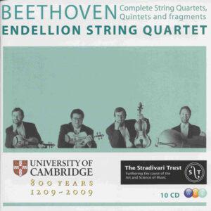 Beethoven, string quartets, Endellion String Quartet, CD cover
