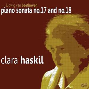 Beethoven: Piano sonatas opp.31/2, 31/3 — Haskil, CD cover