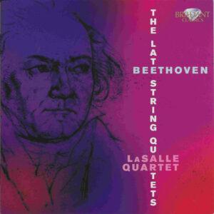 Beethoven, string quartets op.127 - 135, LaSalle Quartet, CD cover