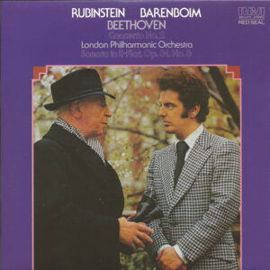 Rubinstein, The Complete Album Collection (142 CDs), cover, CD # 133