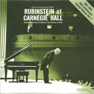 Rubinstein, The Complete Album Collection (142 CDs), cover, CD # 141