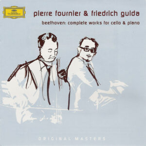 Beethoven: Cello sonatas, Fournier, Gulda, CD cover