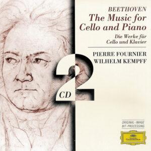 Beethoven: Cello sonatas, Fournier, Kempff, CD cover