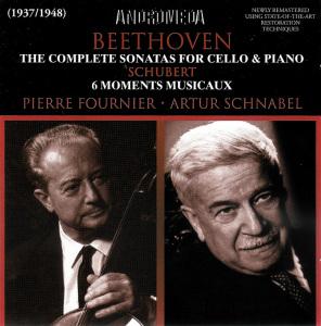 Beethoven: Cello sonatas, Fournier, Schnabel, CD cover
