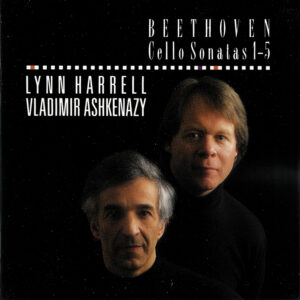 Beethoven: Cello sonatas, Harrell, Ashkenazy, CD cover