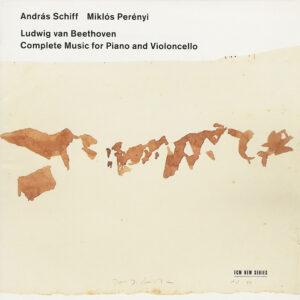 Beethoven: Cello sonatas, Perényi, Schiff, CD cover