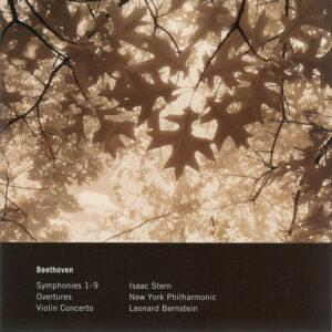 Beethoven: Symphonies 1 - 9 —Bernstein, New York Philharmonic; CD cover