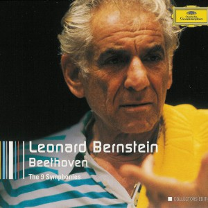 Beethoven: Symphonies 1 - 9 —Bernstein, Vienna Philharmonic; CD cover