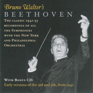 Beethoven: Symphonies 1-9 —Walter / NYPO, PO; CD cover