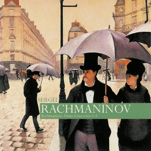 Rachmaninoff: Piano Concertos, Rhapsody — Rachmaninoff; CD cover