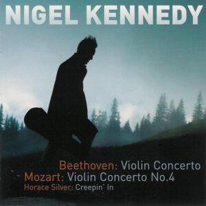 Beethoven / Mozart: Violin Concertos —Kennedy; CD cover