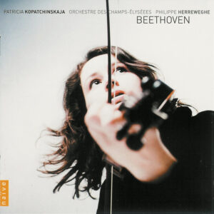 Beethoven: Violin Concerto, Romances — Kopatchinskaja, Herreweghe; CD cover