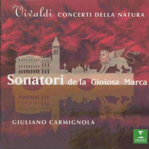 Vivaldi: Concerti della Natura —Carmignola; CD cover