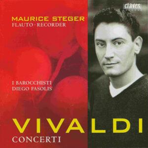 Vivaldi: Concerti —Steger, Fasolis; CD, EAN-13 barcode