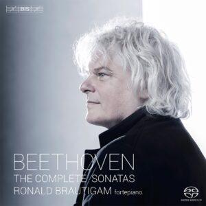 Beethoven: The Piano Sonatas — Brautigam, CD cover