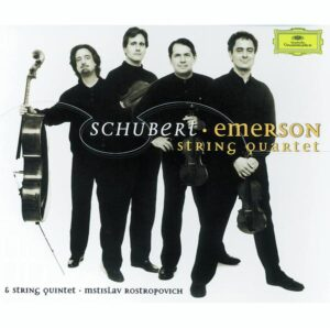 Schubert: String Quartets — Emerson Quartet; CD cover