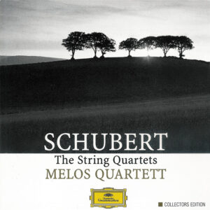 Schubert: String Quartets — Melos Quartett Stuttgart; CD cover