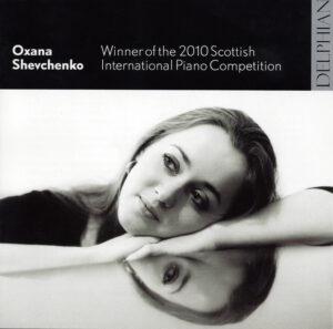 Oxana Shevchenko —Debut CD 2010; CD cover