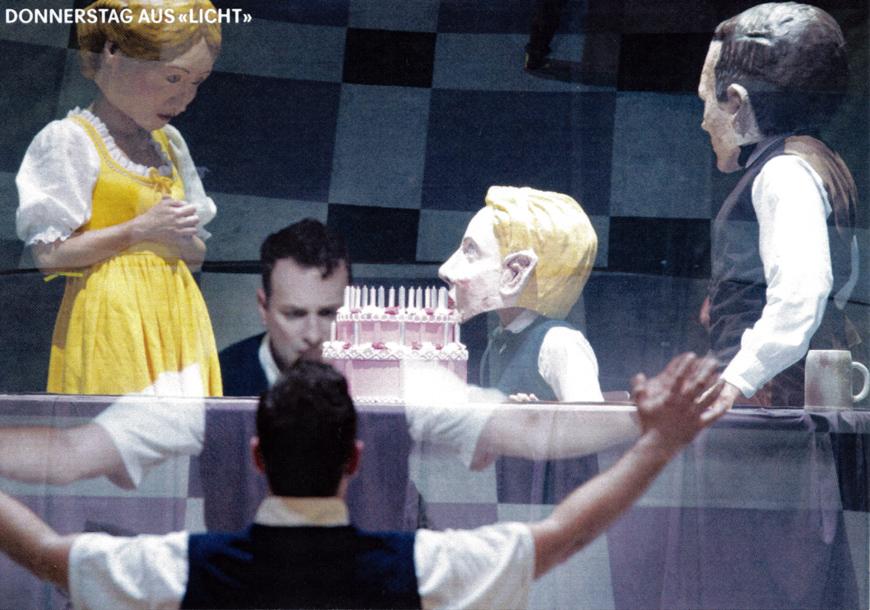 """Stockhausen: """"Donnerstag"""" aus """"Licht"""" (photo © Sandra Then)"""