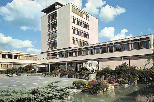 Stadthaus Uster (built 1962, Bruno Giacometti)