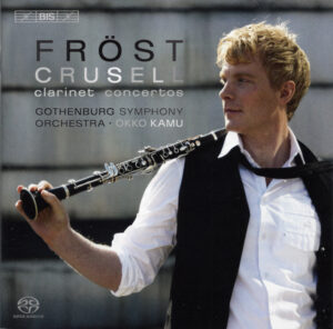 Crusell: Clarinet Concertos —Martin Fröst, Okko Kamu; CD cover