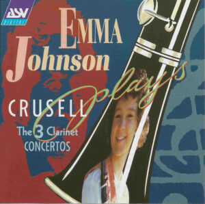 Crusell: Clarinet Concertos —Emma Watson, ECO; CD cover