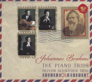 Brahms: Piano Trios —Schnyder Trio; CD cover
