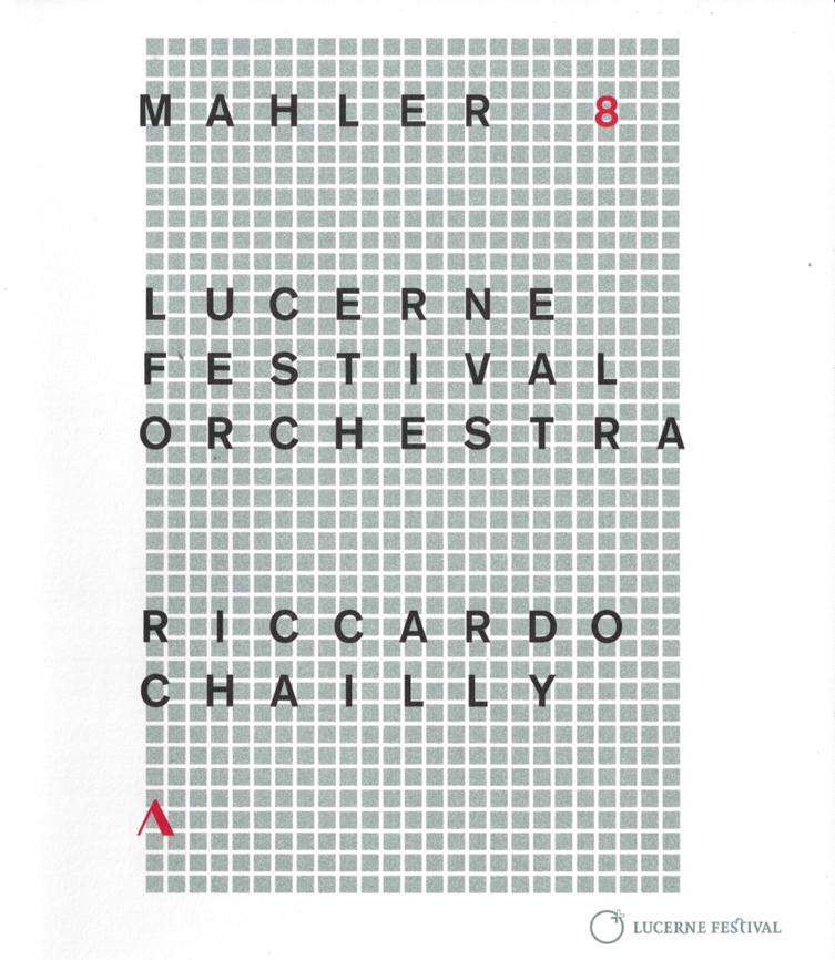 Mahler: Symphony No.8 —Riccardo Chailly / LFO (BD Cover)