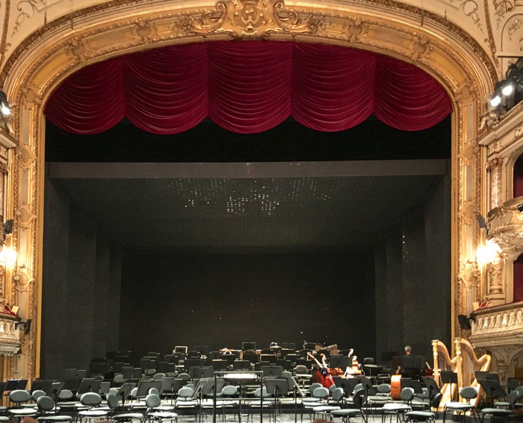 Zurich Opera, concert configuration (© Rolf Kyburz)
