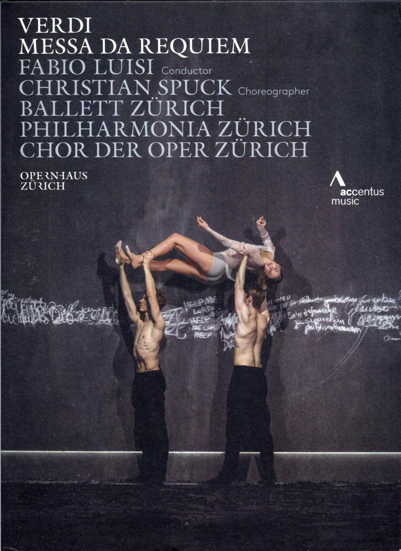 Verdi: Messa da Requiem — Luisi; DVD cover