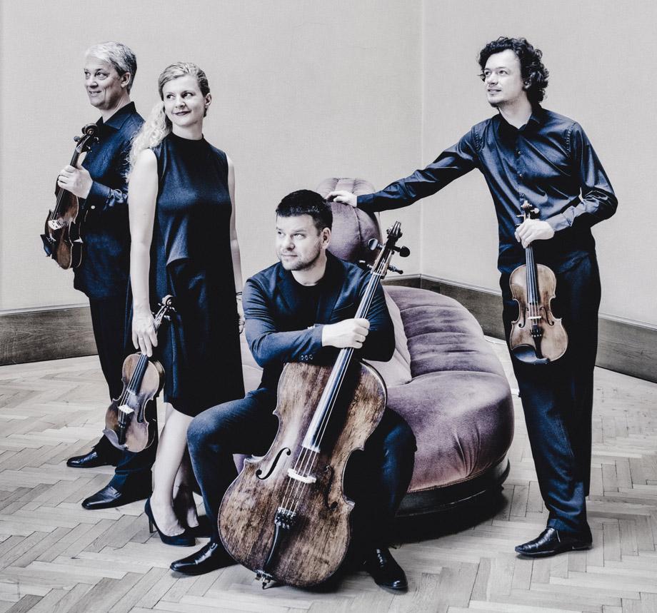 Pavel Haas Quartet (© Marco Borggreve)