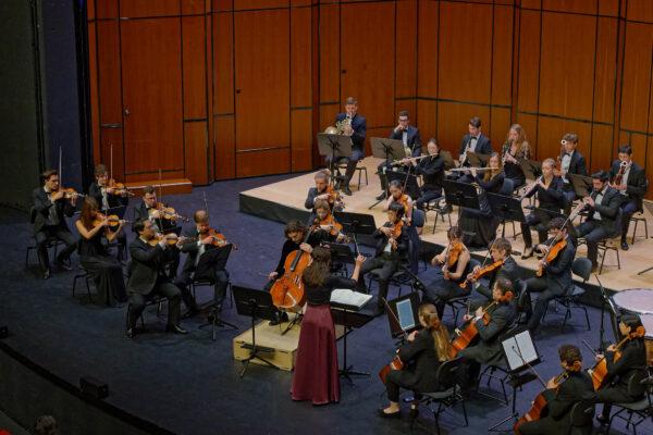 Gavriel Lipkind, Adrija Čepaitė / YES Orchestra; Basel, 2019-09-26 (© Rolf Kyburz)