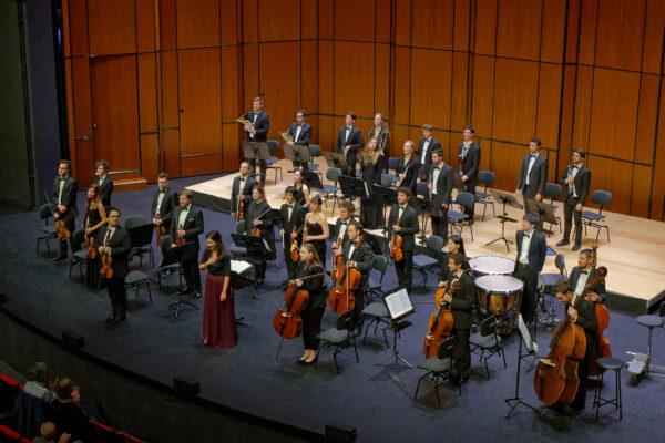 Adrija Čepaitė / YES Orchestra; Basel, 2019-09-26 (© Rolf Kyburz)